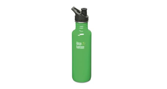 Klean Kanteen Classic Trinkflasche mit Sport Cap 800ml organic garden